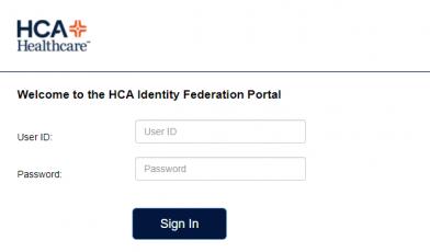 HCA Healthcare Login
