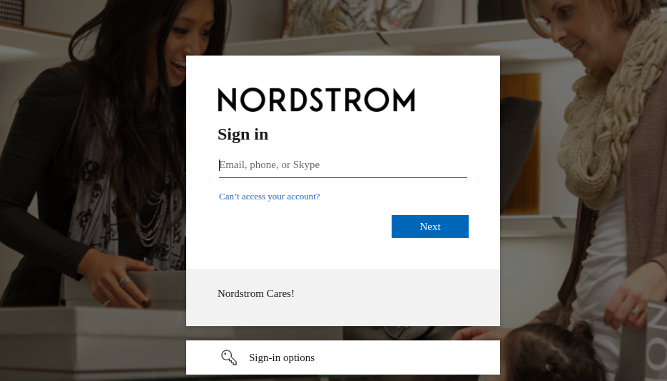 mynordstrom login