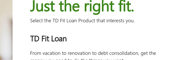 td loan payment